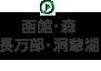 函館・森・長万部・洞爺湖
