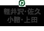 軽井沢・佐久・小諸・上田