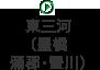東三河(豊橋・蒲郡・豊川)